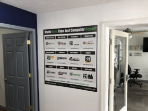 Wall Sticker of Services